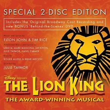 THE LION KING: ORIGINAL BROADWAY CAST RECORDING CD+DVD
