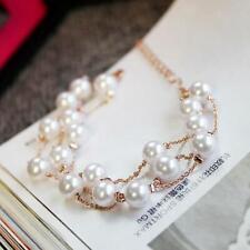 Korea Style Pearl Bracelet Bangle Party Bracelet Bangle Multilayer Bracelet KS