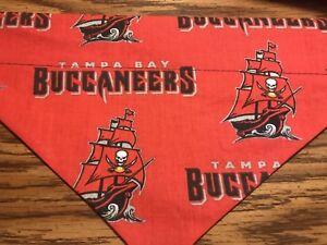 Tampa Bay Buccaneers NFL Over The Collar Dog Bandana