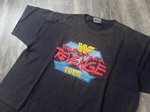 Vintage WWF 1994 WRESTLEMANIA REVENGE Tour Wrestling T Shirt WWE