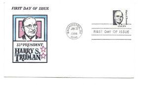 1862 20c Harry S Truman, Jack Davis, FDC