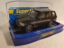 qq H 2878 SUPERSLOT RANGE ROVER BLACK ROAD CAR - scalextric UK
