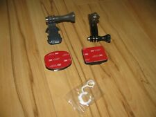 GoPro 4 Silver Mounts for Camera- 5 Pieces Vertical, Flat, Curved Mounts