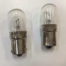 2x 3497 Miniature Lamp Replacement Light Bulb Truck RV Car Marine Car 12v BA15s