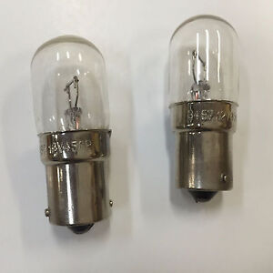 2x 3497 Miniature Lamp Replacement Light Bulb Truck RV Car Marine Car 12v BA15s