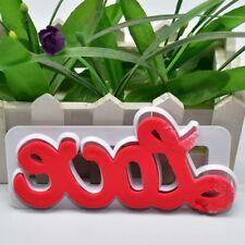 Fondant Alphabet Letter LOVE Cutter Cake Mold Craft Decor Kitchen Baking Tool