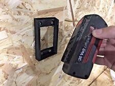 2x BATTERY MOUNTS for BOSCH 36v Rack Panel Storage Slot Holder 36 volt compact