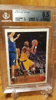 1996-97 Topps #138 Kobe Bryant Los Angeles Lakers RC Rookie w2/10 BGS 8.5 NM-MT+