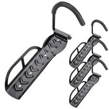 Soporte de pared con gancho ajustable para colgar bicicleta por la rueda 4