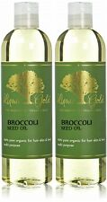 Premium Liquid Gold Broccoli Seed Oil 100% Pure Organic Skin Hair Nails Health