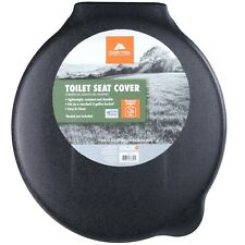 Ozark Trail Portable Outdoor Snap On Toilet Seat with Lid Camping Outdoor Travel