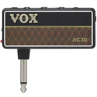 Vox AMPLUG AC30 G2 Compact Headphone Amplifier for Guitar and Bass, New!
