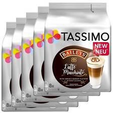 5 x Tassimo Latte Macchiato Bailey's   40 T Discs