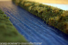 "WWS Plastic Water Sheet Lake River 7"" x 42"" - Model Railway Scenery Landscape"