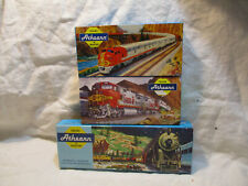 Vintage 3 EMPTY  Athearn HO scale  train boxes