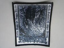MERCILESS DEATH METAL SUBLIMATED PATCH