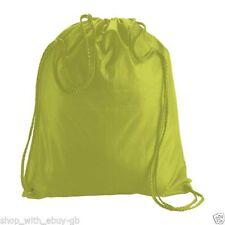 Sac à dos vert en polyester pour homme