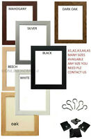 A1/A2/A3/A4/A5/A6 PICTURE FRAME PHOTO FRAME POSTER FRAME IN VARIOUS SIZES&COLORS