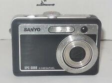 Sanyo Xacti VPC-S600 6.0MP Digital Camera - Black