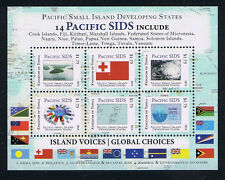 Tonga Pacific Small Island Developing States Stamp Logos Mini-Sheet
