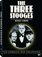 The Three Stooges DVD Complete Collection 1934 - 1959 8 Volume Free USA Shipping