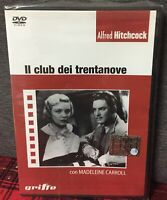 Il Club dei Trentanove (1935) DVD NUOVO Sigillato Alfred Hitchcock 39 Thriller N