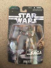 Star Wars Saga Collection 006 2006 Boba Fett w Hologram Figure NIP!