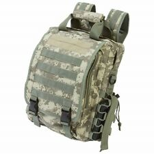 Heavy Duty Digital Camo TACTICAL BACKPACK DAY PACK Water Resistant Bug Out Bag