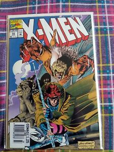 X-MEN #33 (VOL 2)  MARVEL COMICS WOLVERINE 1991 SABRETOOTH GAMBIT