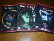 LOTTO 5 DVD RING 0 THE RING 1 -2  THE RING 2 E THE SPIRAL