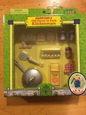 Madeline's Old House in Paris Kitchenware Doll House Accessories Nib Breakfast