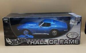 Hot Wheels 1969 Corvette Hall of Fame SP. 2-Vette set 1:64 & 1:18  LIMITED ED.