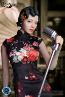 Super Duck 1:6 Shanghai Female Singer Head Clothes SET046B F 12'' Phicen Figure