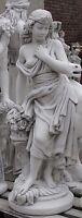 Frau Akt Lebensgroß Skulptur Figur Gartenfigur Beton Steinfigur Garten Groß 109