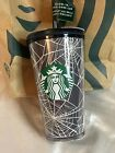 Starbucks Limited Edition 2021 Glow in the Dark Webs Tumbler w/ Sticker Pack