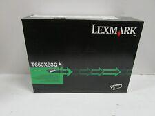 GENUINE  LEXMARK T650X83G EXTRA HIGH YIELD TONER CARTRIDGE NEW SEALED SEE PHOTOS