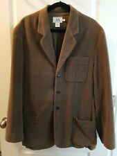 AX Armani Exchange Men's Blazer Large Jacket Sport Coat Velvet soft brown