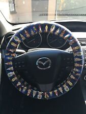 Dr Who All the Doctors Steering Wheel Cover