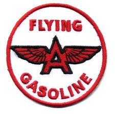 Flying a patch badge gasoline hot rod drag race Tydol sales service station