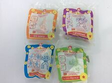 McDonald's Happy Meal Toys DRAGONBALL Z 1989 Asia (4 Pieces In Set)