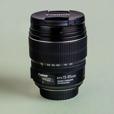 AS NEW - Canon EFS 15-85mm f3.5-5.6 IS USM