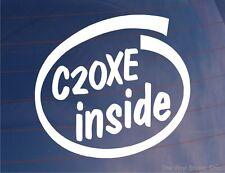 C20XE à l'intérieur de Nouveauté Voiture / Fenêtre / AUTOCOLLANT-Idéal Pour Vauxhall / Opel Astra