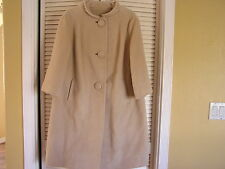 Retro 60's Vintage Forstmann Mohair ? Woman's Coat Jacket Jackie O Very Stylish!