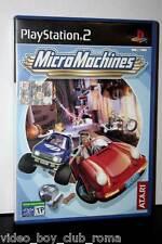 MICRO MACHINES USATO OTTIMO STATO SONY PS2 EDIZIONE ITALIANA PAL ATARI FR1 29896