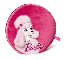 Nici 34366 Kissen Pudel Sequin Rund Stuhlkissen Dekokissen Sofa Hocker Barbie