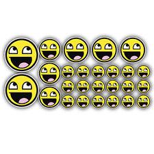 26 x Smiley MEME FACE ADESIVI JDM Euro Dub VW