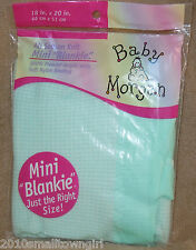 Baby Morgan Aqua Mini Blanket