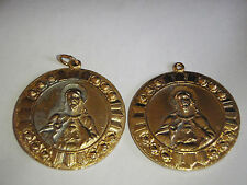 CATHOLIC  RELIGIOUS MEDAL  JEWELRY HOLY MOTHER JESUS  five medals BX X 183