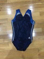 Women's Adidas Gymnastics Leotard Blue Size AL