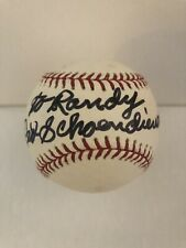 "Red Schoendienst Signed Baseball Inscribed ""To Randy"" Auto Official MLB Ball"